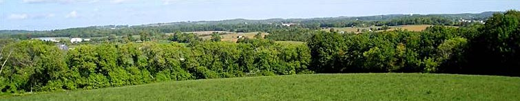 Panoramic view of Meadowland Farm